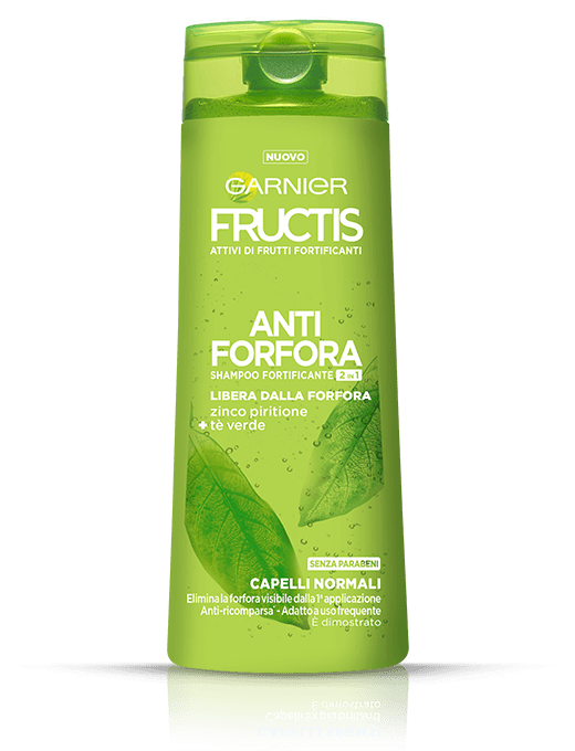 shampoo fructis antiforfora 2in1