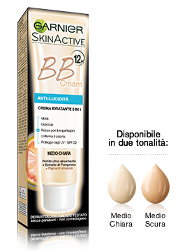 BB cream medio chiara