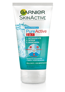 Gel detergente Pure Active - 3 in 1