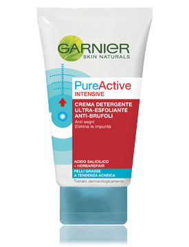 Gel scrub pure active