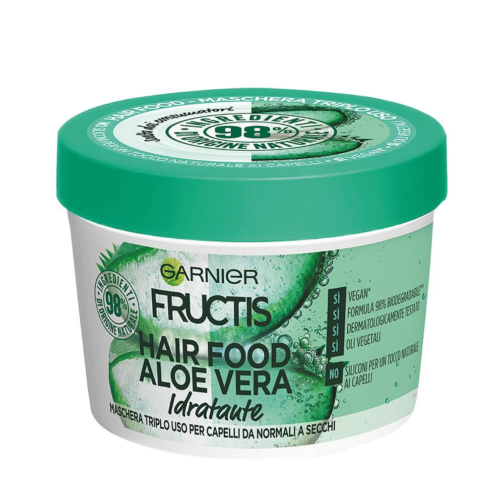 maschera fructis hair food aloe