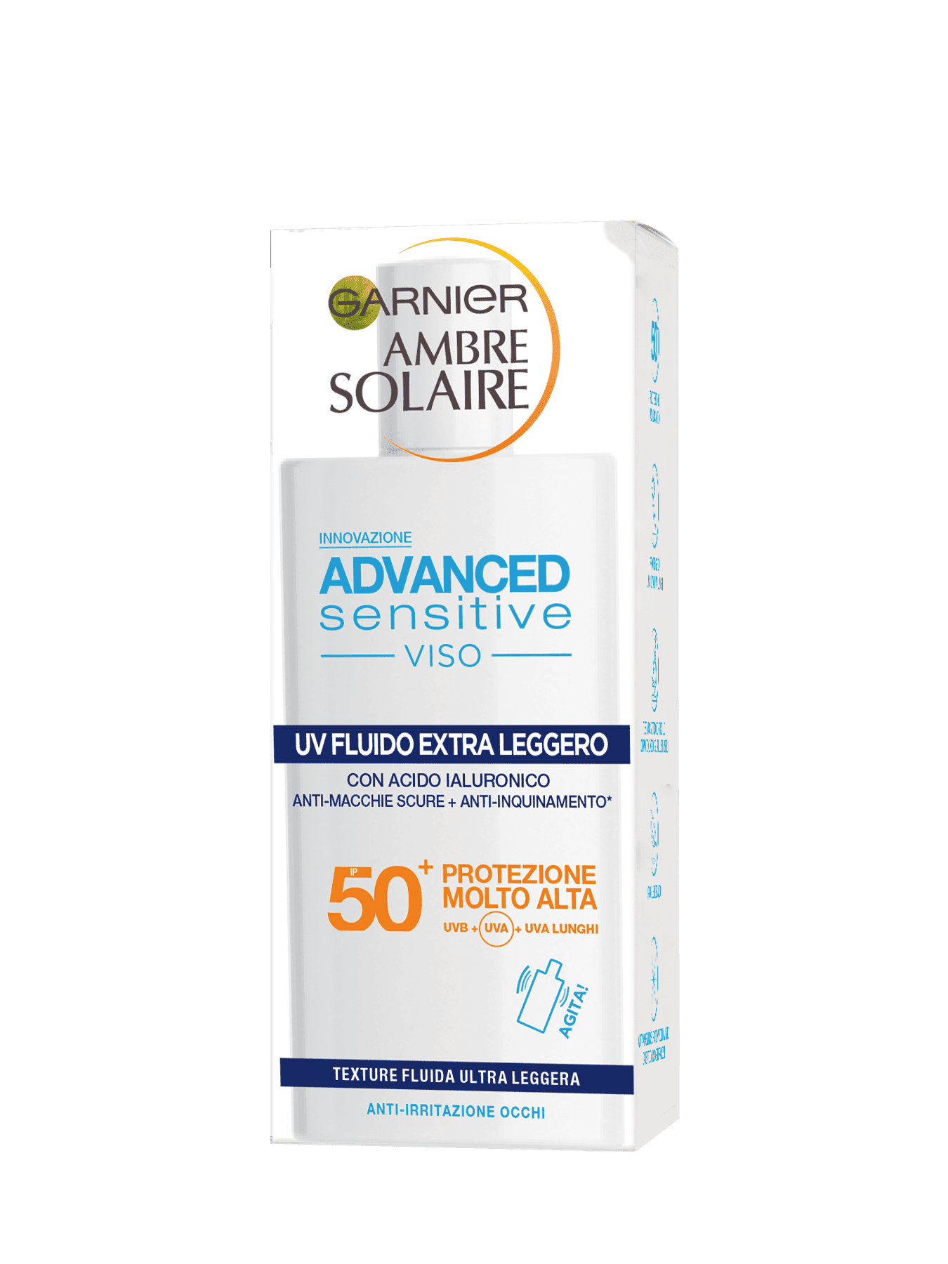 ambre solaire advance sensitive viso 50